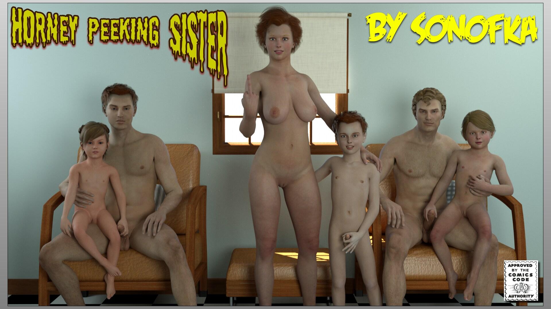 Pics of little naked sister 3d hentay scene