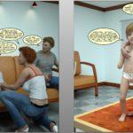 Sonofka Lolicon Shotacon Family Orgy 3D Comix 4 (21)